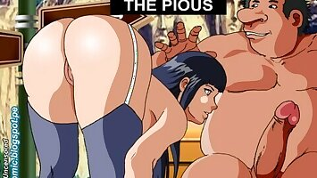 Hinata - Hentai Anime Uncensored - Mock Comic Animated
